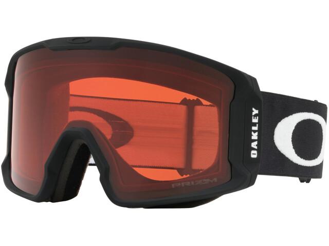 Oakley Line Miner XL Lunettes de ski Homme, matte black/w prizm rose
